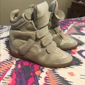 Isabel Marant Bekett Wedge Sneakers in size 41